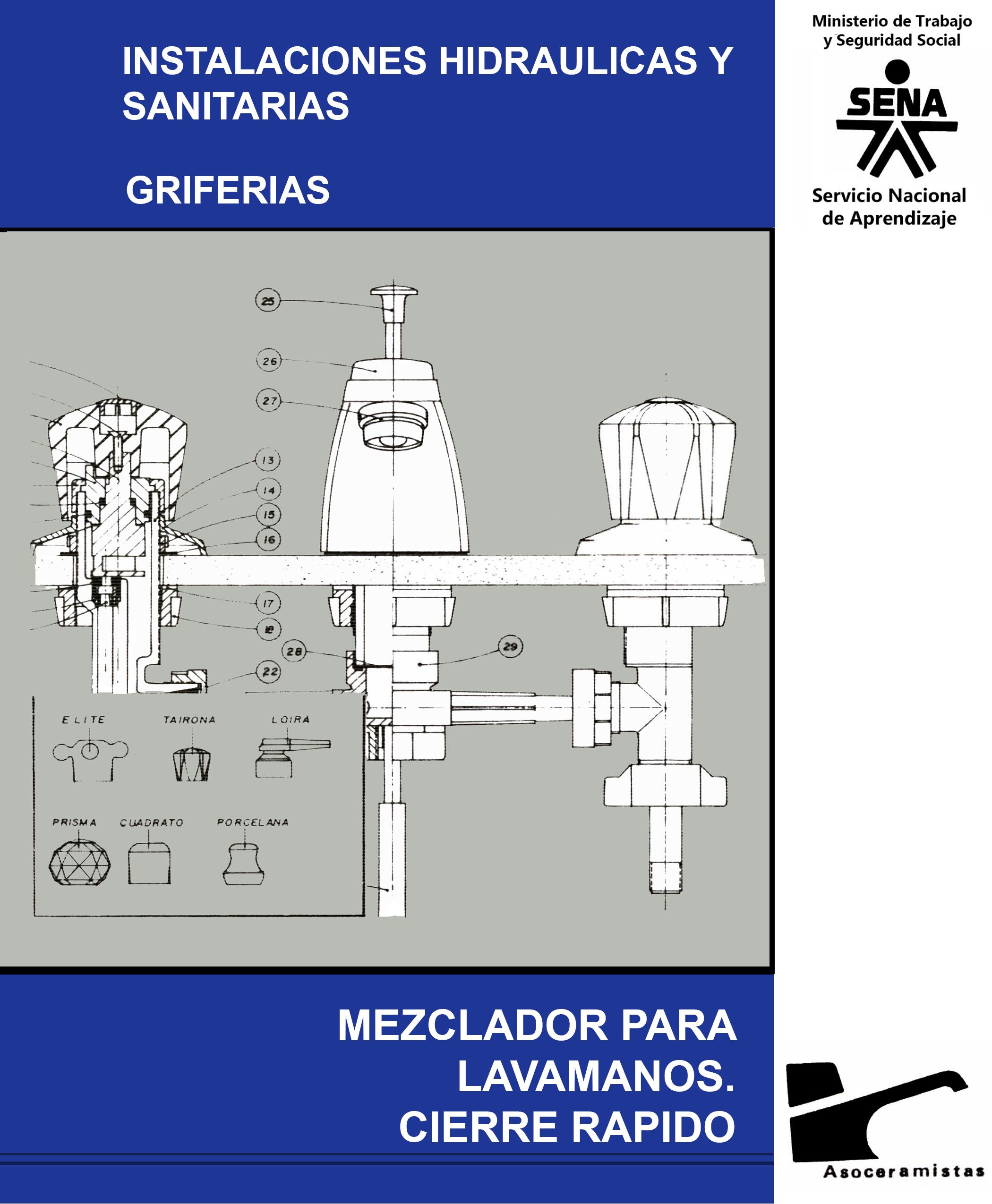 Mezclador cierre rapido for Griferia para lavamanos